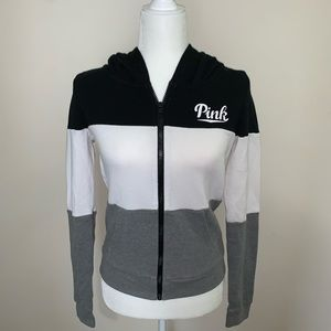 VICTORIA's SECRET PINK Zip Up Size Medium